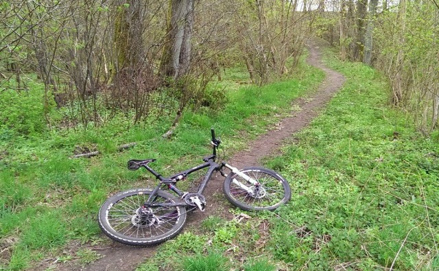 Cykel vilar ut