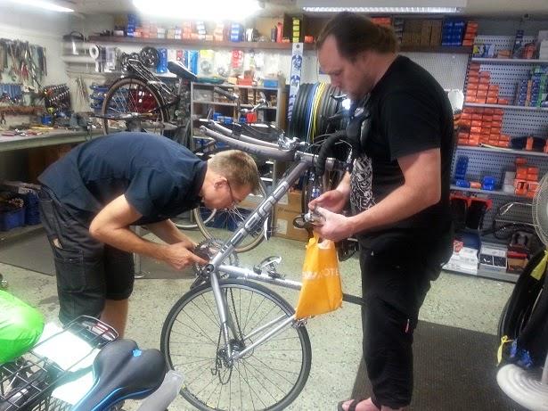 Jag erbjöds jobb som cykelställ, någon talang skall man ju ha