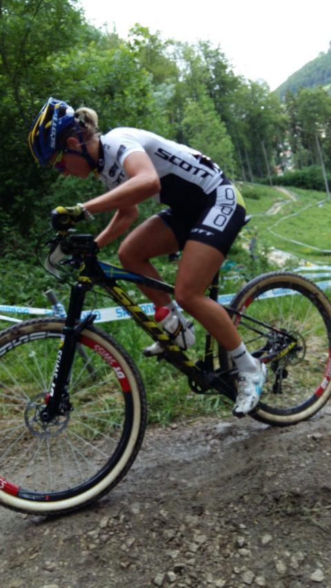 Jenny Rissveds dominerar just nu U23-klassen i världscupen med två segrar på två tävlingar.