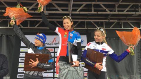 Felicia Ferner kunde till slut gå ifrån Åsa Erlandsson med ett par minuter. Danskan Eliinor Huusko fick mest fokusera på att säkra tredjeplatsen.