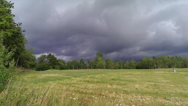 Solbadande oväder