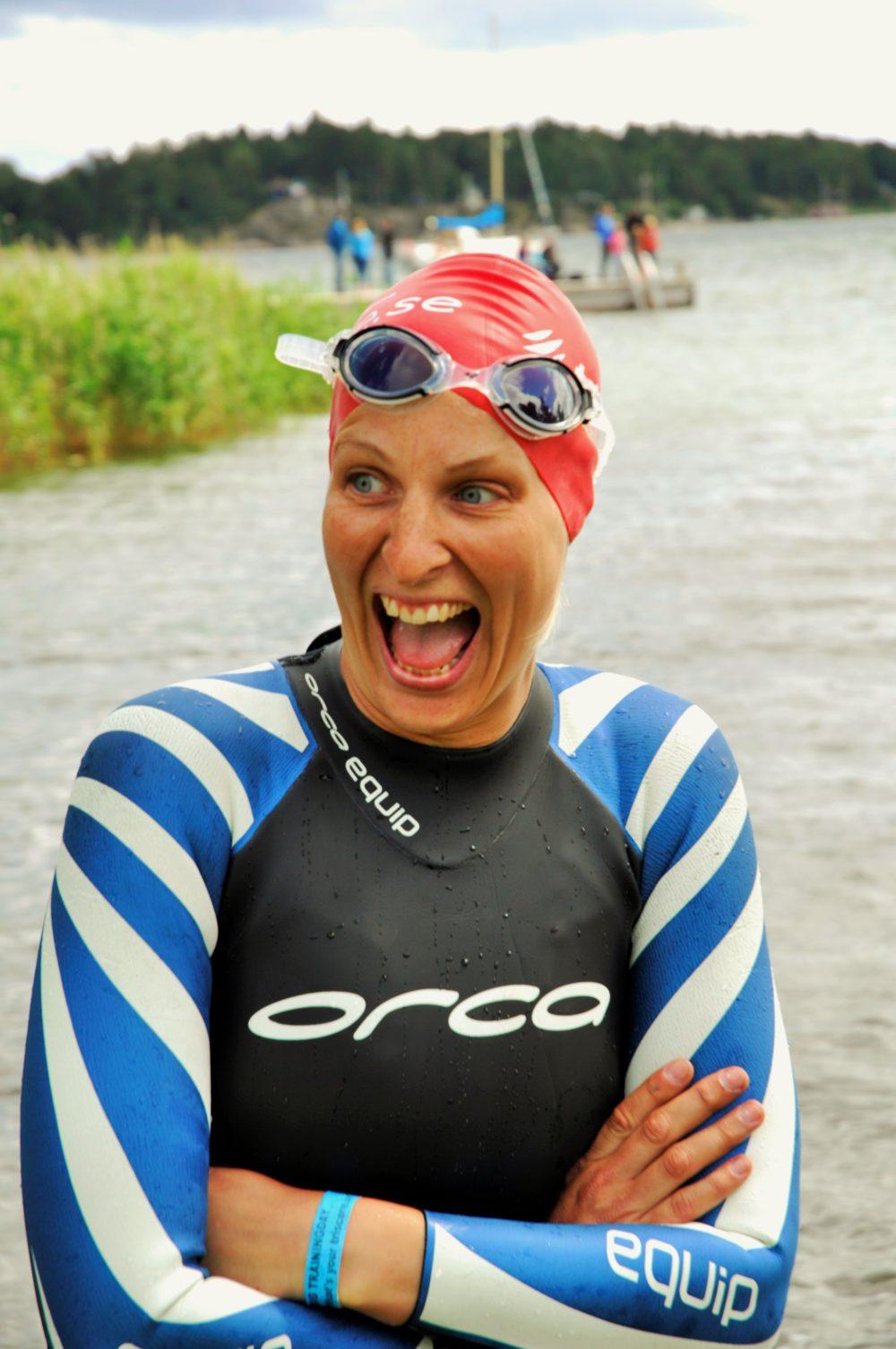 Kallt i vattnet! Foto: Triscore.se