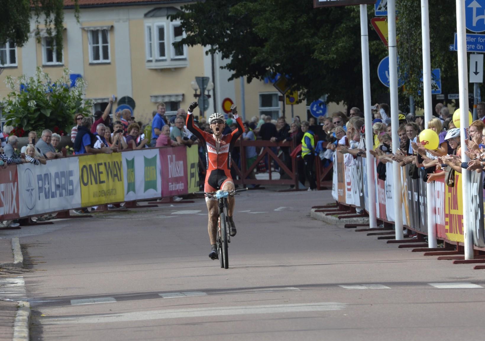 Fredrik Ericsson vann i ensamt majestät för två år sedan. Foto: Vasaloppet