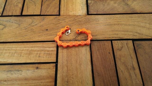 Armband i passande Lammhultcyklisterna-orange!