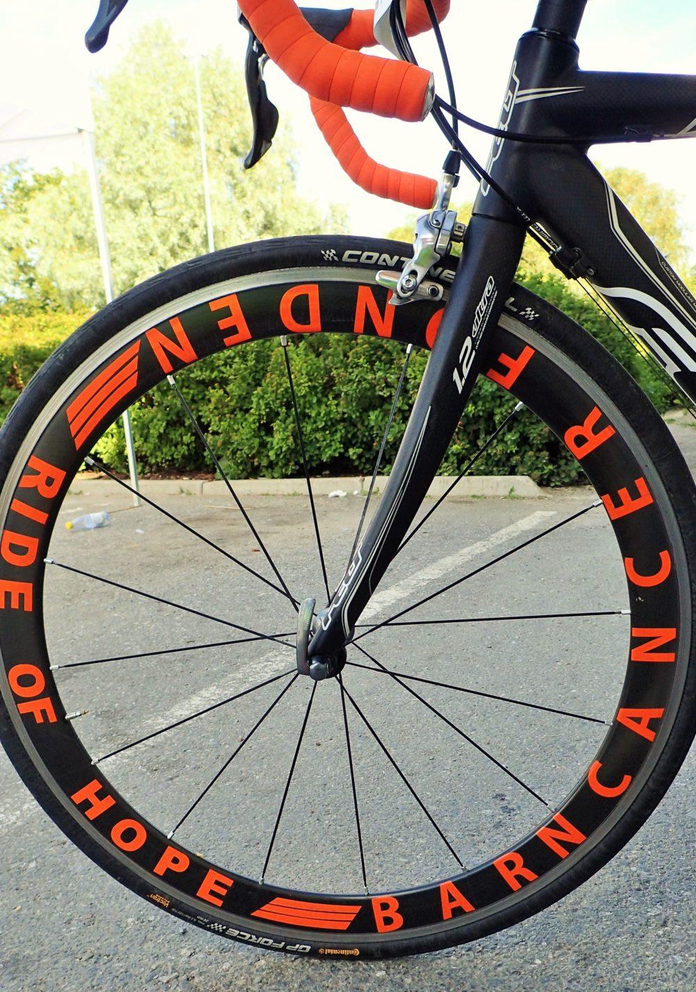 Ride of Hope-hjul!