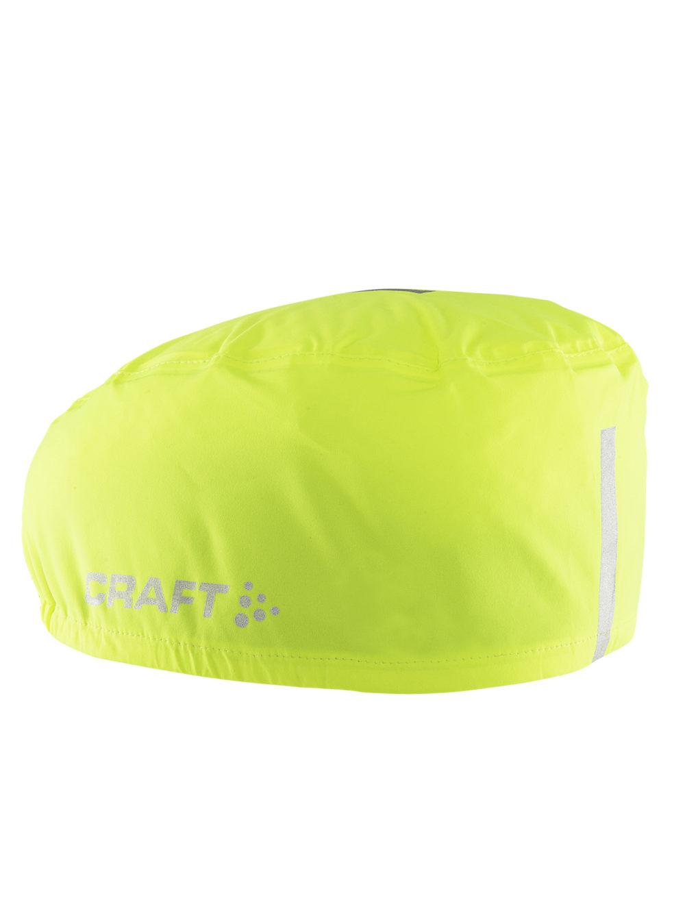 Rain helmet cover. Vind- och vattentätt skydd att sätta på hjälmen för att skydda mot väta och vind och som gör dig mer synlig i trafiken. Färg: Flumino Pris: 300 kr