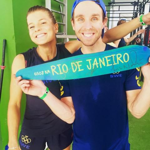 Jenny Rissveds och Emil Lindgren är två cyklister som gärna åker med till Rio i sommar. Men ännu är det inte klart att de gör Emma Johansson sällskap till Brasilien.