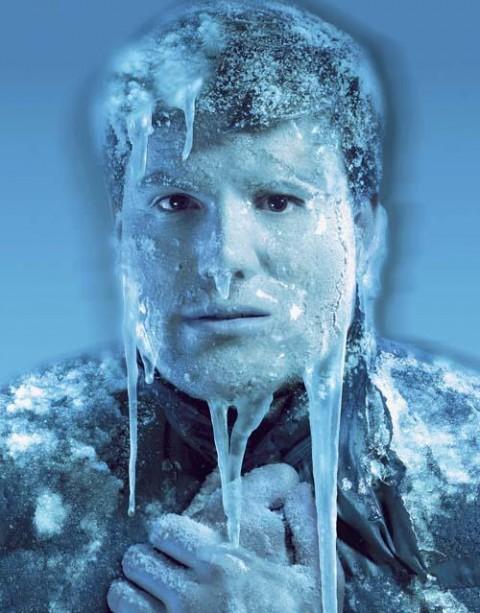 Även om jag kanske inte var fullt så här kall kändes det som det...