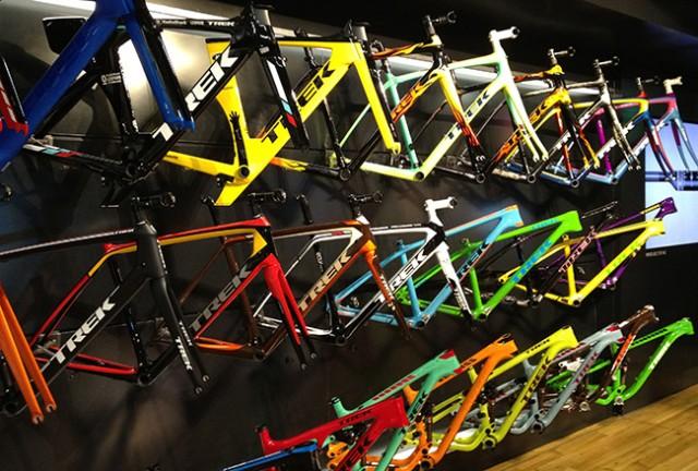 Project One ger dig möjlighet att själv designa din cykel. Både när det gäller utrustning och färg.