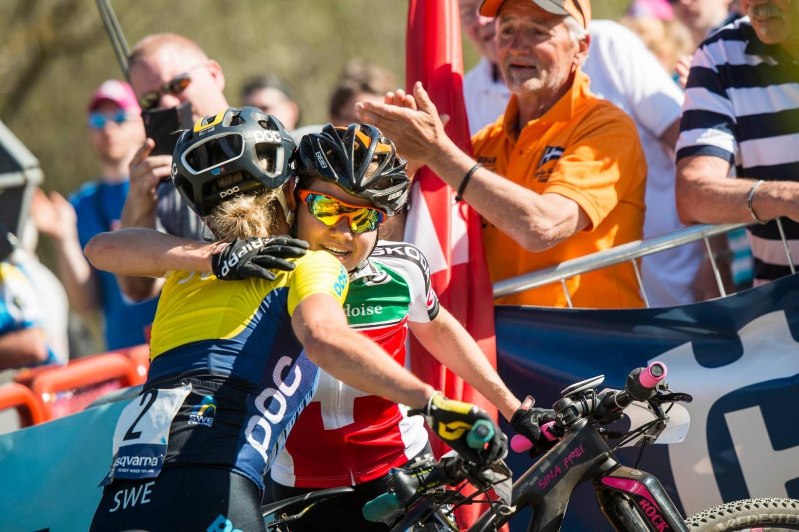 Glada medaljörer! Foto: Jesper Andersson