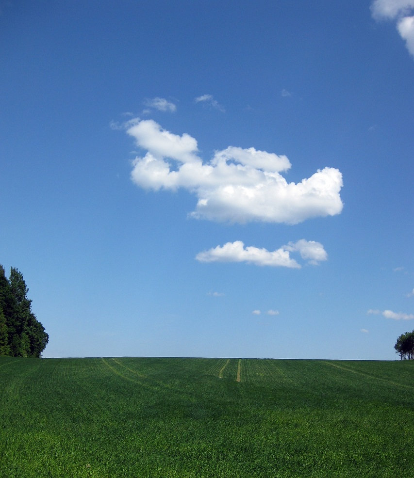 Himlen var nära den här dagen