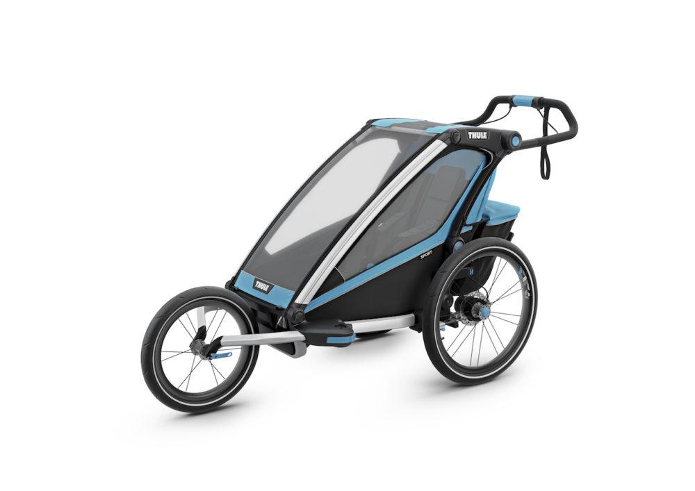 Thule_Chariot_Sport1_ThuleBlue_Jogging_ISO_10201001 kopia 2