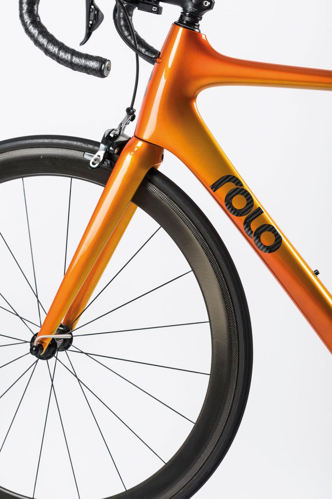 Varje cykel får en unik lack i Falun.