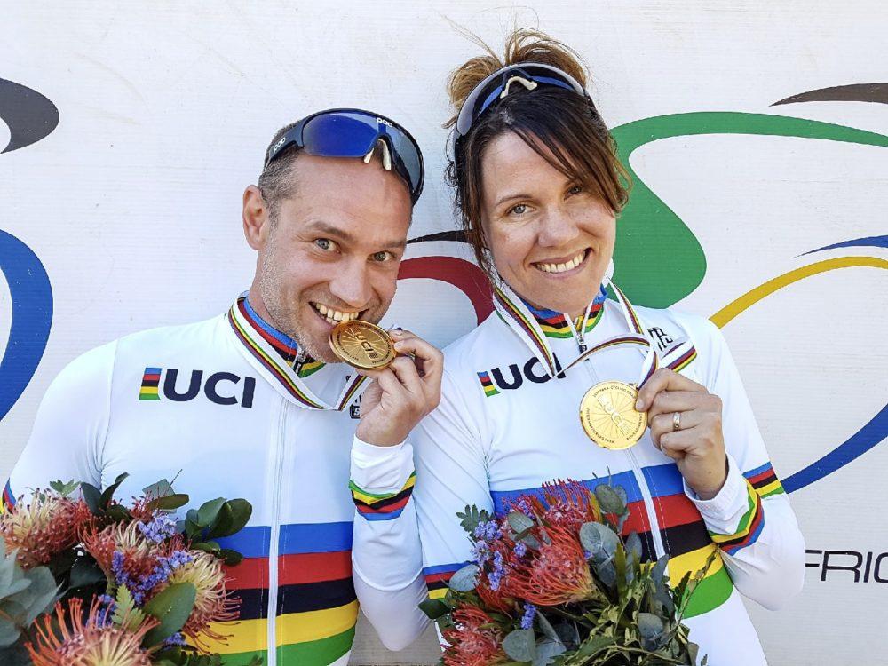 Två regerande världsmästare tävlar i världscupen i Ostende. Foto: Emma Stenberg
