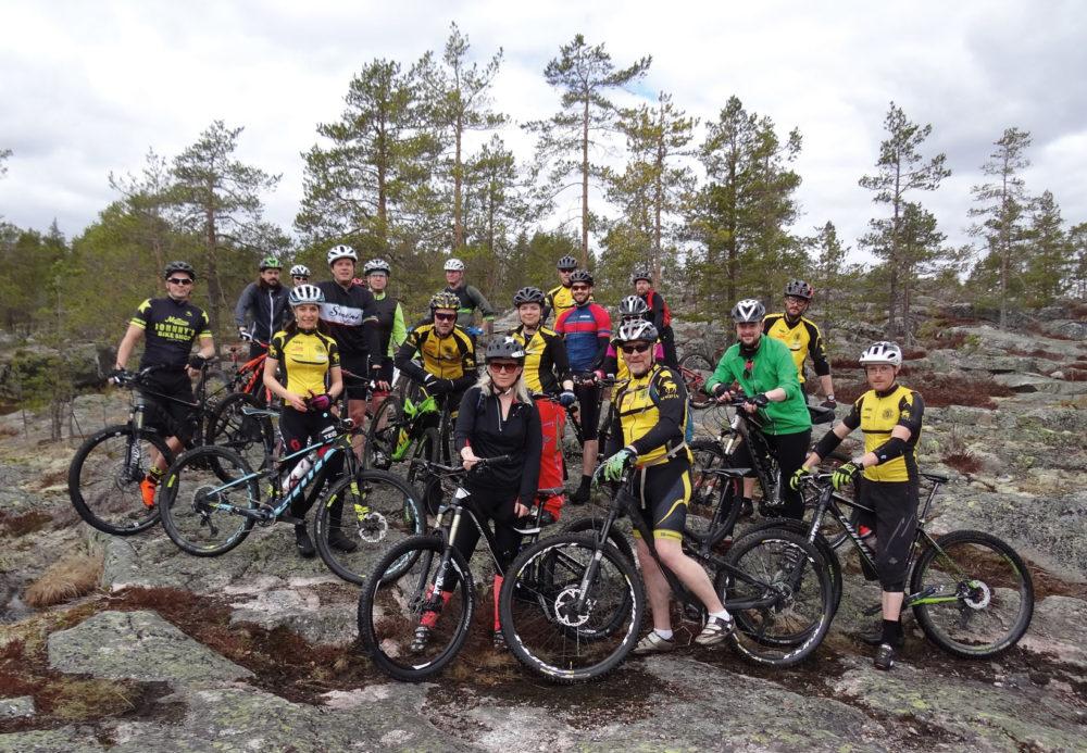 mountainbike tävling skellefteå
