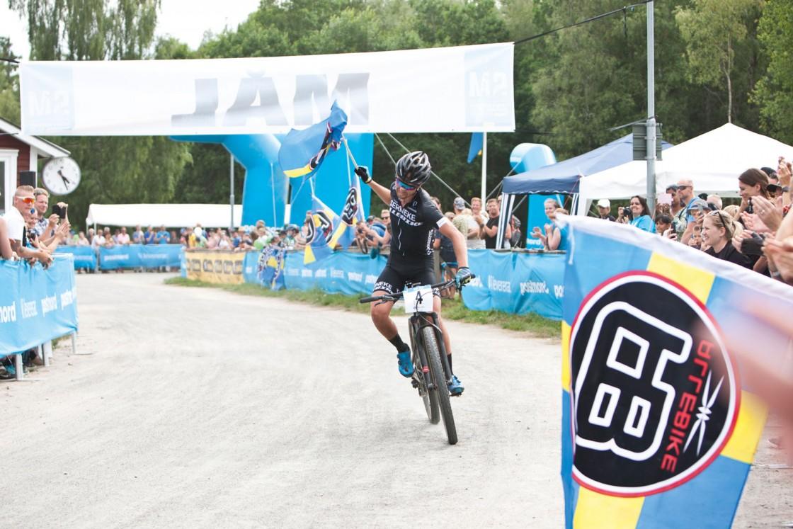 I slutändan blev det en helt sensationell mängd segrar under säsongen som gick, med en mer eller mindre maximal utdelning av guld och cup-segrar. Foto: Allebike/ Jessica Blomqvist