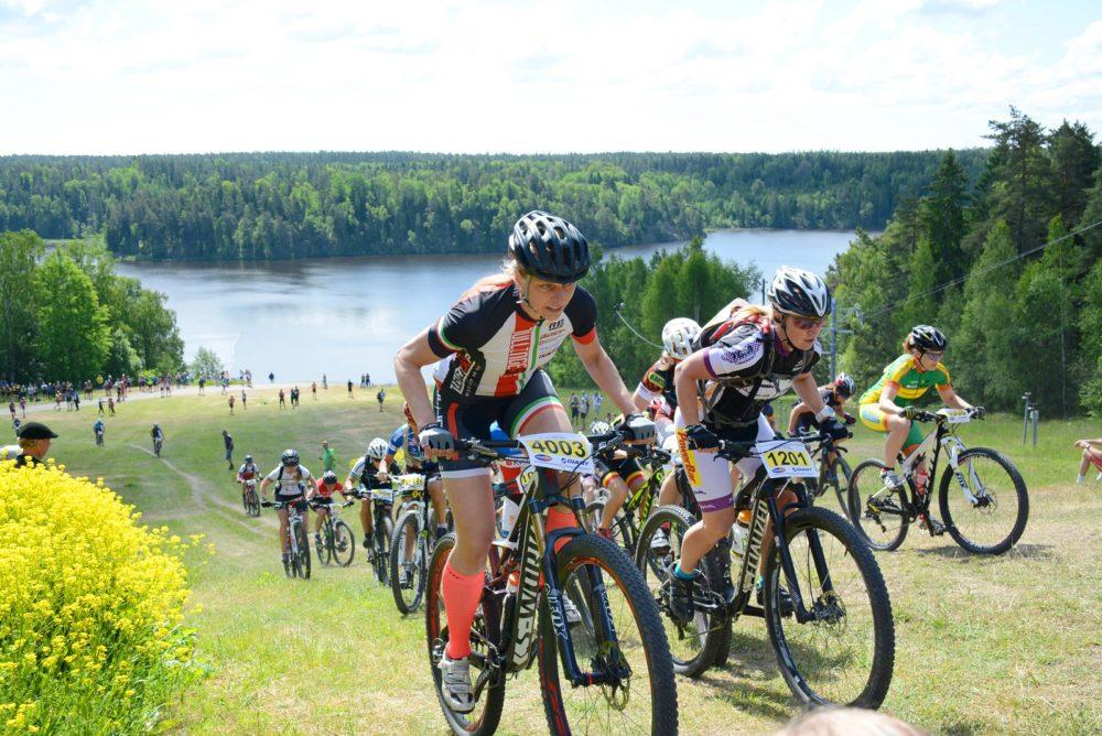 Tävlingarna Lida Loop (bilden) och Långa Lugnet är de två långlopp i cupen som framgångsrikt kört separata damstarter i tre år. Foto: Lina Börjes