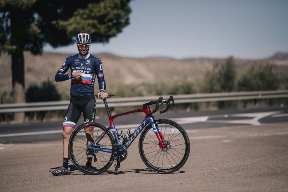 Michelton-Scott training camp in Almeria, Spain february 2018